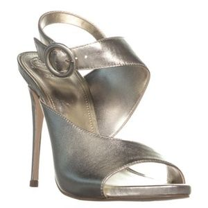 Guess Metallic Tyson 2 Ankle Strap Sandals